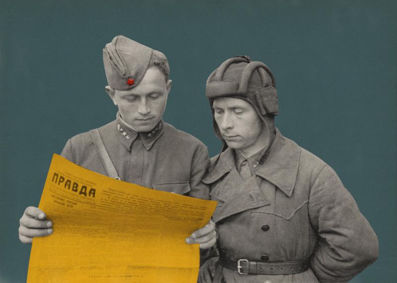 Повседневная жизнь советских и немецких танкистов на Восточном фронте